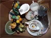 Roman art figurines and ceramic décor