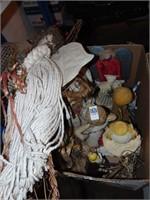 Artisan crafty angels décor