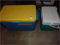Coleman Sunlites cooler & Thermos cooler