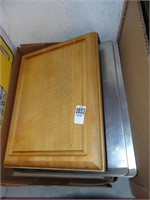 Cutting Board and 2 Cookie Sheets