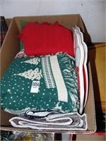 Christmas Throw and Linens