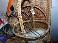Wicker Baskets and Metal Baskets