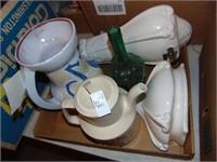 French Ceramic Pitcher