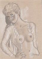 Renaud. Illustration originale Jessica Blandy