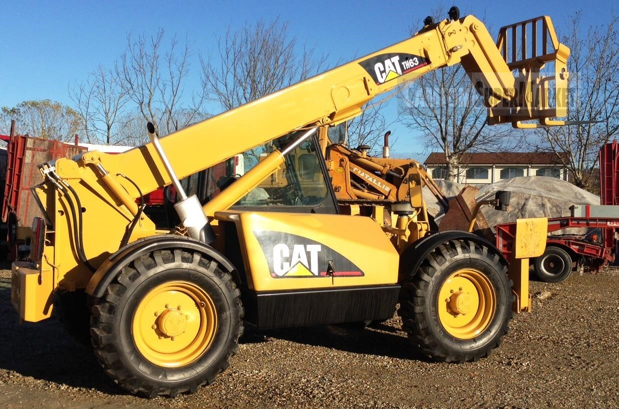 Caterpillar TH63 Usato 2002 Piemonte