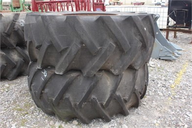 184077fc894d LOT OF (2) 24.5-32 LOG SKIDDER TIRES W/ RIMS Other Auction Results ...