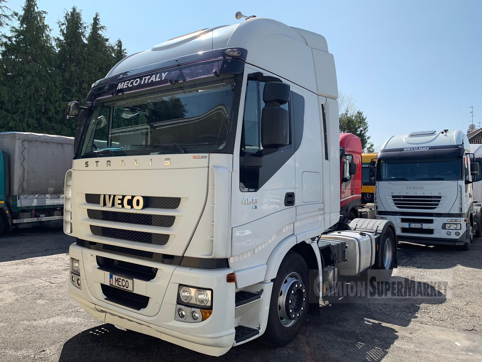 Iveco STRALIS 450 used 2008 Lombardia