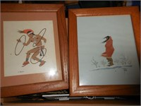Artwork, Tile, Tins, Glass Dishes, Flags and More