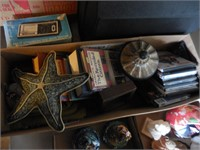 Typewriter, Nic Nacs, Wood Bat, Books, DVD's