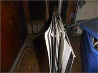 Light Aluminum Sheets, Lights, Vac, Brass Firewood