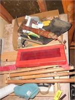 Hand Tools, Nails, Screws, Broom
