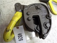 Volz plate clamp