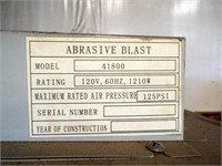 Allsource Sandblast Unit