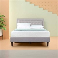 ZINUS UPHOLSTERED BUTTON TUFTED PREMIUM