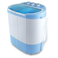 PORTABLE WASHER & SPIN DRYER 11LBS CAPACITY 11V