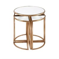 IMAX LIMBA MIRROR ACCENT TABLES