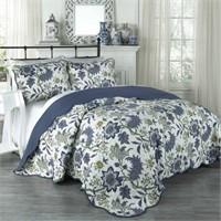 TRADITIONS BY WAVERLY 3 PIECE QUEEN QUILT SET