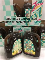 12 BOTTLES OF ARIZONA ICE TEA 1 GALLON EACH