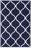 MAPLES RUGS RN 38768 NAVY 5' X 7'