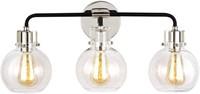 FEISS VS24403PN/TXB CLARA VANITY, 3-LIGHT