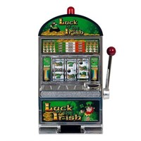 LUCK OF THE IRISH-THEMED SLOT BANK (2FT TALL)