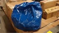 BLUE BEAN BAG (DAMAGED / WITH CUT)