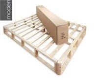 INSTANT FOUNDATIN WOOD BED FRAME SLATS TWIN XL