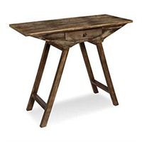 RUSTIC SMALL WOODEN CONSOLE TABLE