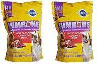 1.39KG PEDIGREE JUMBONE BEEF FLAVOUR DOG TREATS