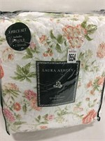 3PC KING REVERSIBLE QUILT KING- LAURA ASHLEY