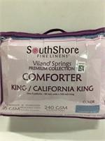 SOUTH SHORE COMFORTER KING/CAL KING