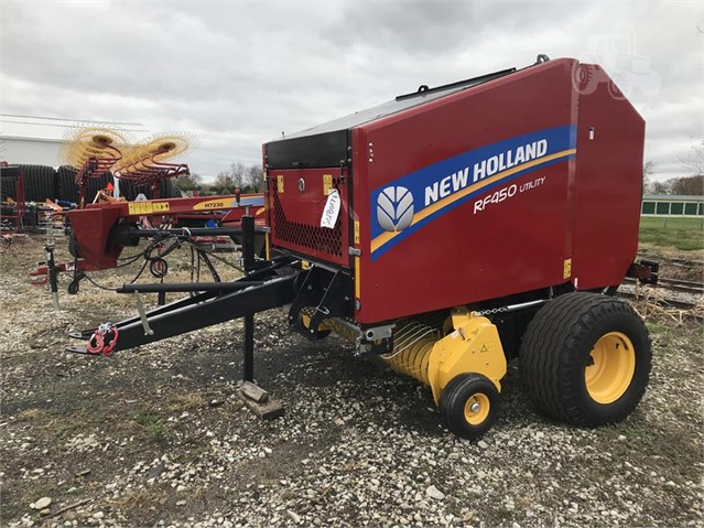 2019 new holland rf450 utility