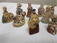 WADE Tea Figurines