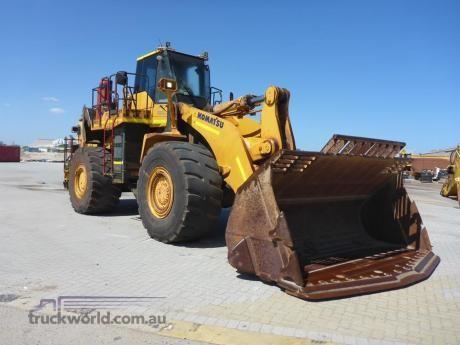 2013 Komatsu WA600-6 Heavy Machinery for Sale