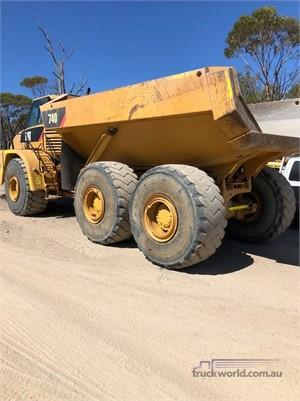 2007 Caterpillar 740 - Truckworld.com.au - Heavy Machinery for Sale