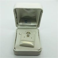 14K Yellow Gold Cubic Zirconia  Pendant, Made in
