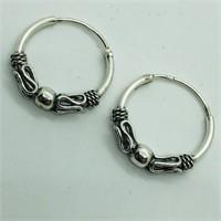 Silver  Earrings (187 - CR95)   (D2)