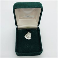 Silver Cubic Zirconia  Pendant (198 - CR95)