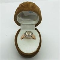 Silver Morganite  Ring (200 - CR95)   (D2)
