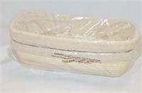 (2) Jranter Banneter Proofing Baskets