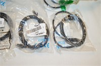 (7) Various Length Network Patch Cables