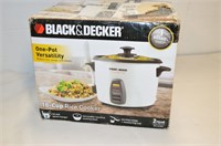 Black and Decker 16-Cup Rice Cooker