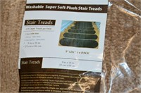 14 Pack Carpet Stair Treads