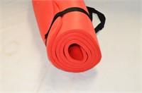 Red Foam Yoga Mat