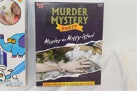 Window Sticker Art and Murder Mystery Party