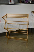 Essentials Folding Wooden Drying Rack