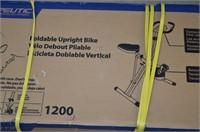Exerpeutic Foldable Upright Bike