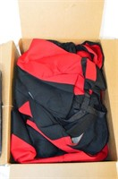 FH Flat Cloth Car Seat Covers - Red