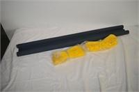 Door Draft Stopper and (2) Bundles of Light Rope