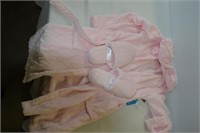 Girls Bathrobe with Slippers Size 10-12